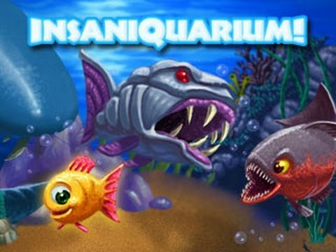 Best childhood game insaniquarium best fish game ever for The fish game