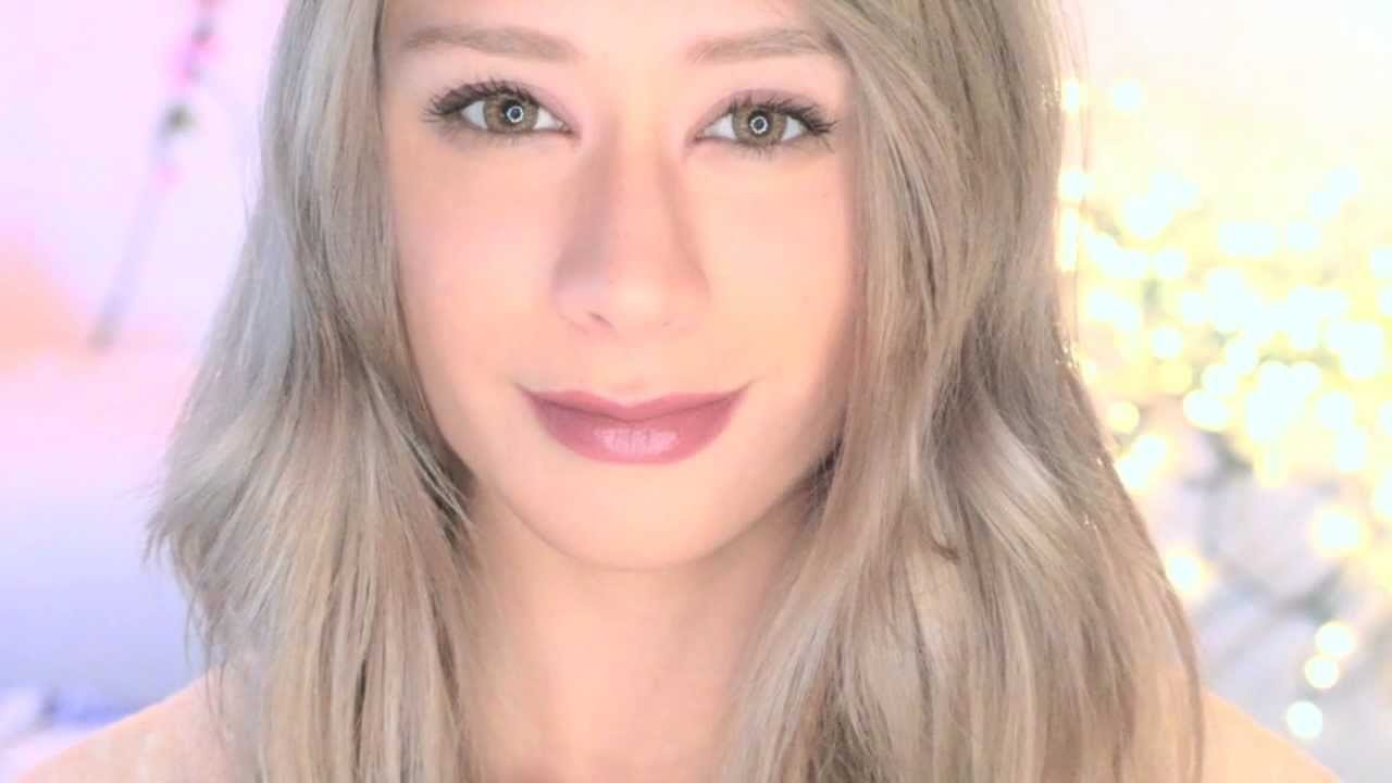 How To Get Ash Blonde Hair At Home Youtube