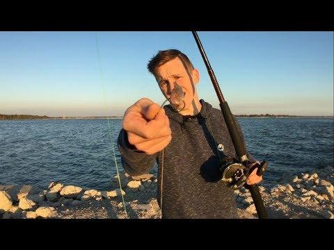 Bottom Fishing for Black Drum and Gulf Kingfish