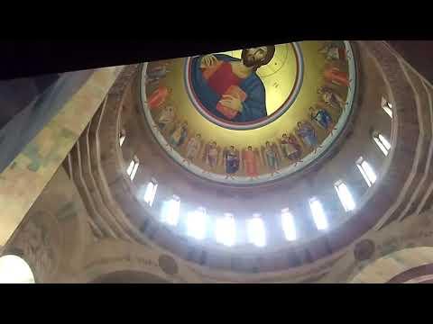 Церковь Иоанна Крестителя изнутри | город-спутник Еревана -  Абовян, май 2019, Армения