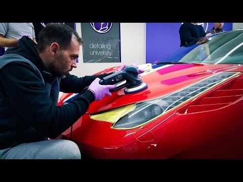 SPECIAL DETAILING FOR THE FERRARI 458 SPECIALE