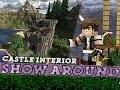 Minecraft, Show-Around Medieval Castle Interior!