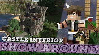 Minecraft Show Around Medieval Castle Interior! YouTube