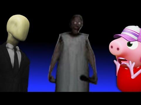 СЛЕНДЕР В ДОМЕ ЗЛОЙ БАБУШКИ ГРЕННИ все серии СТРАШИЛКИ мультики Horror Pig мультики 2018