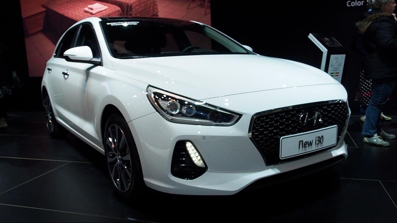 Hyundai I30n >> Hyundai i30 2017 In detail review walkaround Interior Exterior - YouTube
