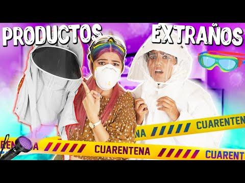 PROBANDO PRODUCTOS EXTRAÑOS DE CUARENTENA | MUSAS LOS POLINESIOS