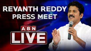 Revanth Reddy Press Meet LIVE | Congress Party Press Meet | ABN LIVE