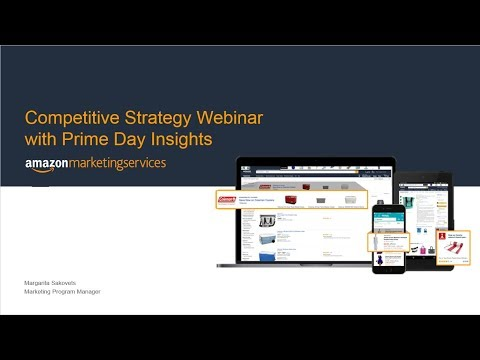 [US] Amazon Marketing Services 301: Competitive Strategy with Prime Day Insights