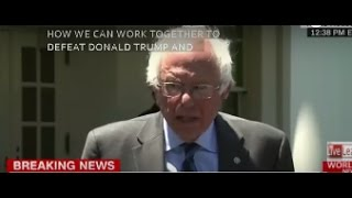 Bernie Sanders FULL SPEECH after President Obama White House meeting SEE YOU AT THE CONVENTION
