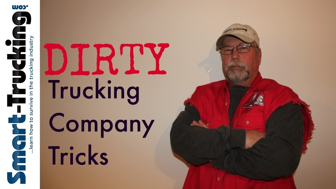 5 Dirty Trucking Company Tricks You Should Know About