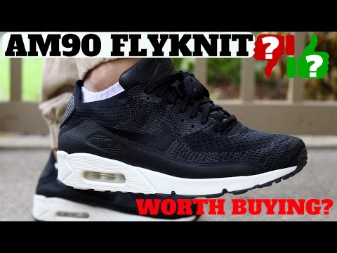 WORTH BUYING? NIKE AIR MAX 90 FLYKNIT REVIEW!