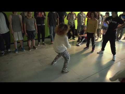 Ahsia & Gladys vs. Raquel & Katie | LuvBugz House Dance Battle - @dancersglobal