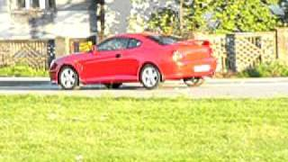 Hyundai Coupe 2002 RED