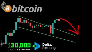 BITCOIN LONG TARGET REACHED!! HALLΟWEEN PULLBACK INCOMING?? STAKE CRYPTO ON DELTA EXCHANGE!!