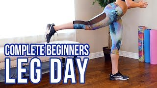 Lean Legs & Butt Lift Workout for Couch Potatoes! No Equipment, Beginners At Home | Dani Nicole