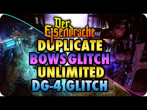 BO3 Zombie Glitches Unlimited DG-4 + Duplicate Bows Glitch Der Eisendrache Call of Duty: Black Ops 3