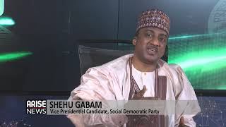 Shehu Gabam, VP candidate of the SDP speaks on the victory of Donald Duke at the appellate court