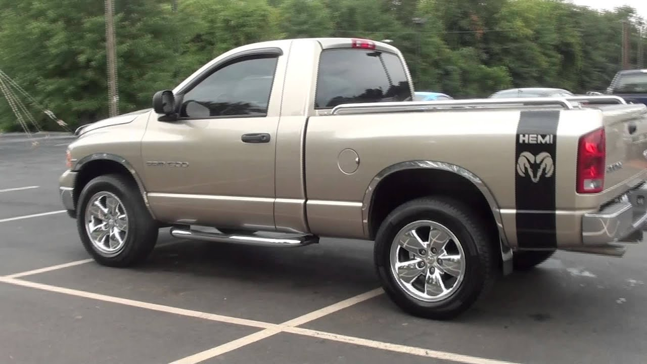FOR SALE 2004 DODGE RAM 1500 4X4 SLT!!! ONLY 26K MILES STK# P5684B - YouTube