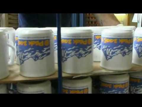 Screen Printing Process on Promotional Mugs