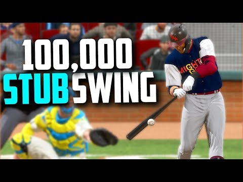 DID THIS SWING WIN US 100,000 STUBS?! MLB The Show 18 | Battle Royale