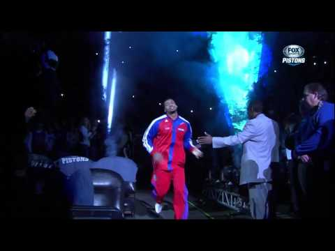 Detroit Pistons 2013-2014 Opening Night Introductions