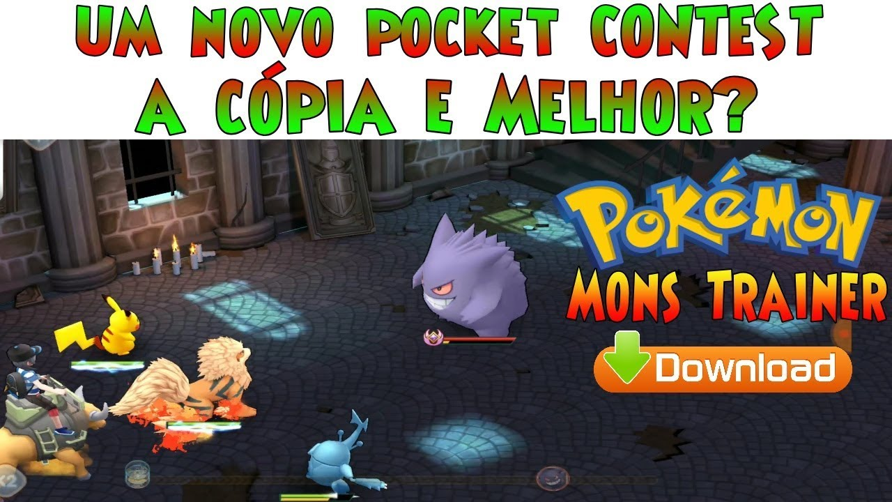 Novo POKÉLAND LEGENDS? Pokémon Ns Em Inglês APK Android Gameplay • MONS TRAINER  #Smartphone #Android