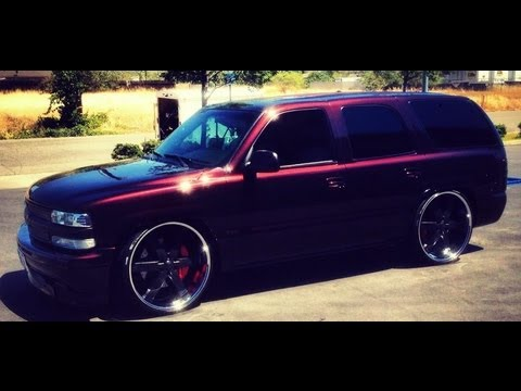 Chevy T Shirts >> Chevy Tahoe Has TREMENDOUS BASS - 4 Windows, 4 T-shirts, 4 18's - 30,000 watts - YouTube