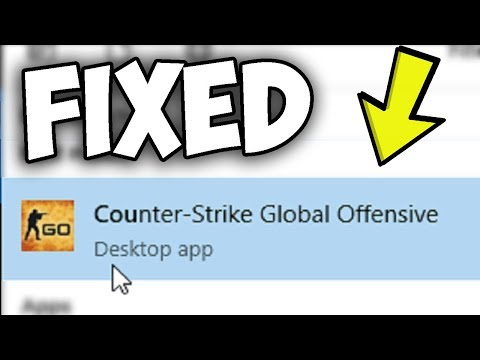 Counter Strike: Global Offensive issues on Windows 10