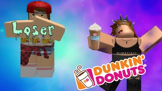 Getting a job at Dunkin' Donuts | ROBLOX| Moonfall