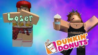 Getting a job at Dunkin' Donuts | ROBLOX| Moonfall