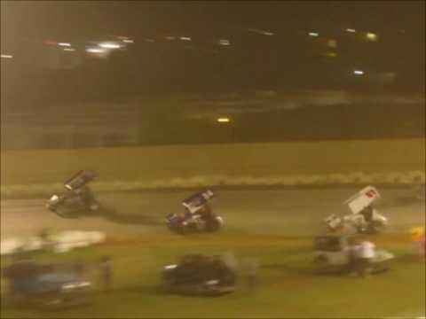 Sprintcars SCCT @ Placerville Speedway 4 15 17 part 2