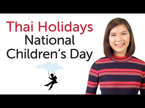 Learn Thai Holidays - National Children's Day