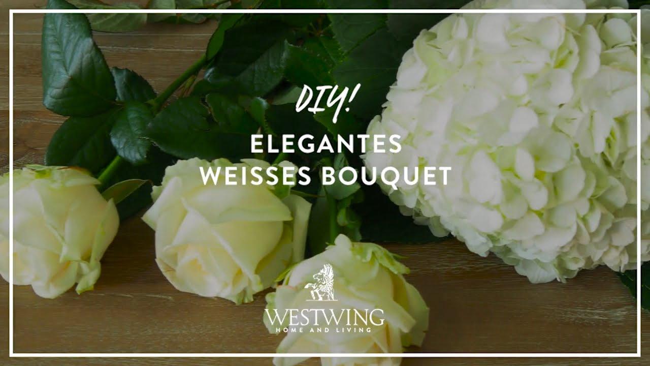 Diy Blumendeko Aus Hortensien Rosen Westwing Style Tipps Youtube