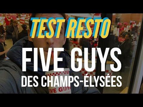 Test Resto : Five Guys des Champs-Élysées