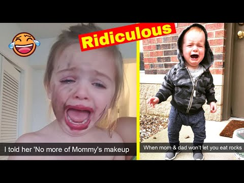 Ridiculous Reasons Why Kids Cry (New Pics)