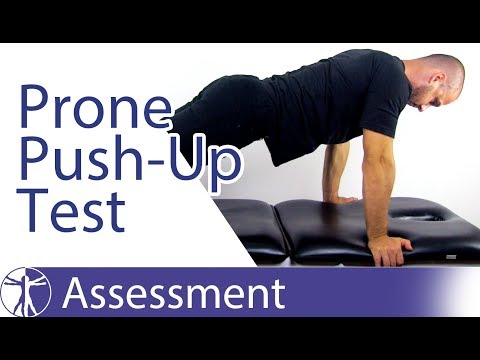 Prone Push-Up Test   Posterolateral Rotatory Instability of the Elbow
