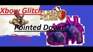 Clash cheat - epic XBOW glitch on clash of clans - glitch!