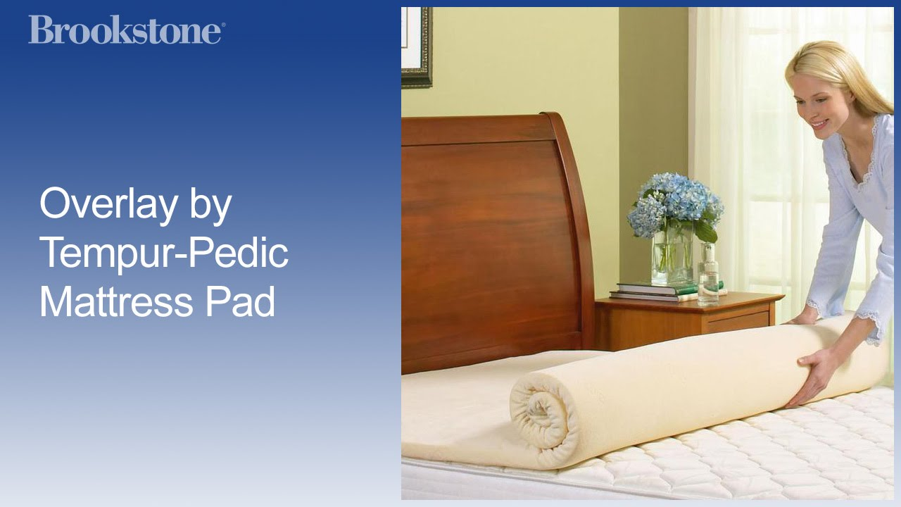 Tempurpedic Mattress Topper Youtube