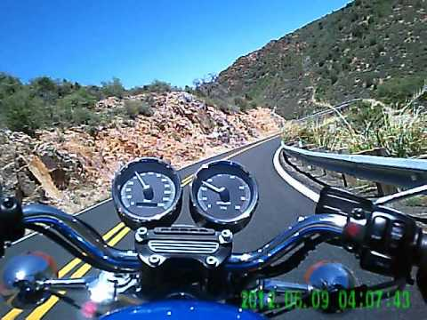 Top of Mingus mountain down to Clarkdale through Jerome