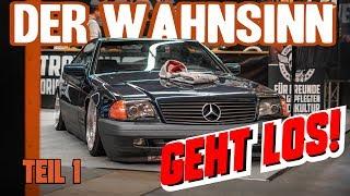 Stahlwerkz - Automobilmesse Erfurt | Teil 1 | Der Aufbau!