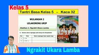 Download Lagu Ngrakit Ukara Lamba - Tantri Basa Kelas 5 Wulangan 2 - Gladhen 1 - hal 32 - Basa Jawa Kelas 5 mp3
