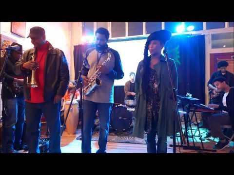 992 Jazz Jam - live 1 @ Gallery 992, West End, Atlanta - Sun Dec/3/2017