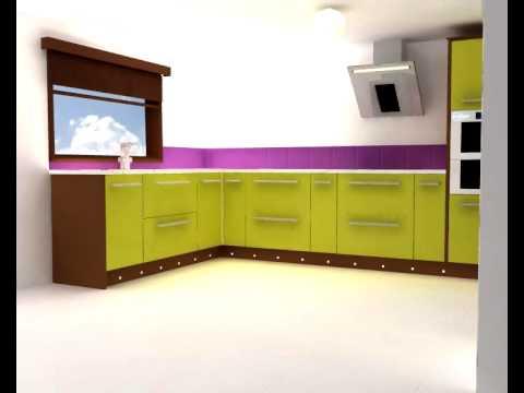 Dream Kitchen - Student work, 3D design project