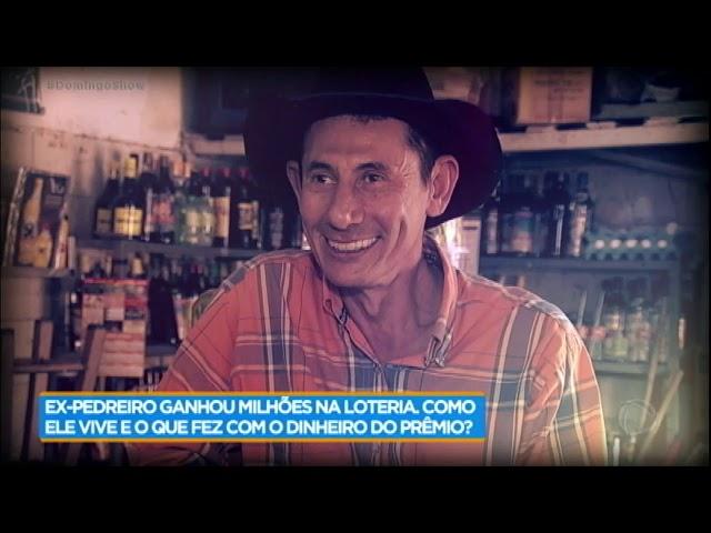 Conheça o ex-pedreiro que ganhou R$ 130 milhões na loteria