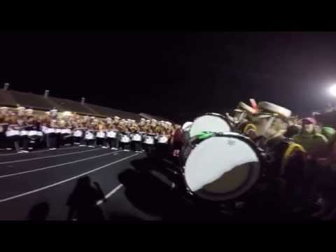 Stow Munroe Falls High School Marching Band Drum Off v Hudson