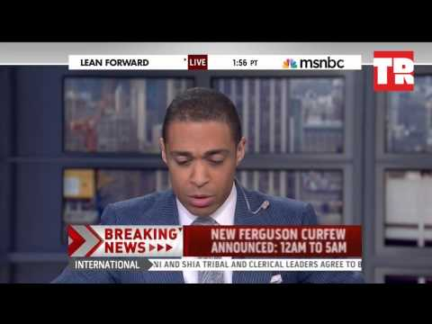 Anchor reacts in rage over Ferguson Curfew