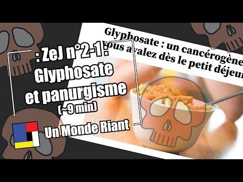 Zététique et journalisme - #2-01 - Glyphosate et panurgisme