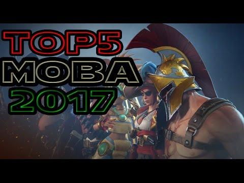Top 5 MOBA 2017  - [Dota 2 & LOL For Mobile]