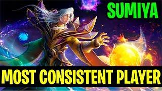 Most Consistent Player With Invoker - SUMIYA 7.17 - Dota 2