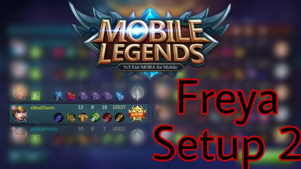 Freya Build Mobile Legends